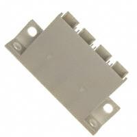 TE Connectivity AMP Connectors - 54489-4 - CONN HOUSING 4POS W/FLG PWR LOCK