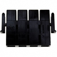 TE Connectivity AMP Connectors - 556879-4 - CONN HSG PLUG 4POS 11.18MM BLACK