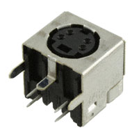 TE Connectivity AMP Connectors - 5749263-1 - CONN CIRC MINI DIN RCPT 4POS R/A