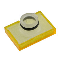 TE Connectivity ALCOSWITCH Switches - 64T4 - LENS SET RECT YELLOW 3PCS