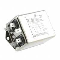 TE Connectivity Corcom Filters - 6609066-2 - LINE FILTER 6A CHASSIS MOUNT