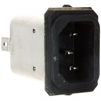 TE Connectivity Corcom Filters - 6609005-8 - PWR ENT RCPT IEC320-C14 PANEL QC