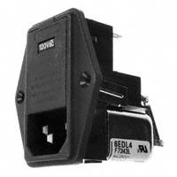 TE Connectivity Corcom Filters - 6EDL4 - PWR ENT MOD RCPT IEC320-C14 PNL