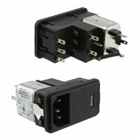 TE Connectivity Corcom Filters - 6EDL4C - PWR ENT MOD RCPT IEC320-C14 PNL