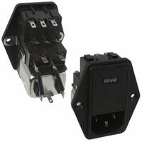 TE Connectivity Corcom Filters - 6EDL4M - PWR ENT MOD RCPT IEC320-C14 PNL