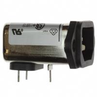 TE Connectivity Corcom Filters - 6EEAP - PWR ENT RCPT IEC320-C14 PNL SLDR