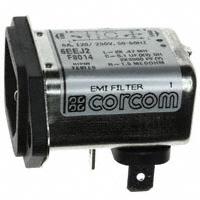 TE Connectivity Corcom Filters - 1-6609006-0 - PWR ENT RCPT IEC320-C14 PANEL QC