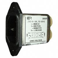 TE Connectivity Corcom Filters - 6609015-5 - PWR ENT RCPT IEC320-C14 PANEL QC