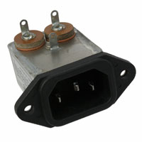 TE Connectivity Corcom Filters - 1-6609014-0 - PWR ENT RCPT IEC320-C14 PNL SLDR