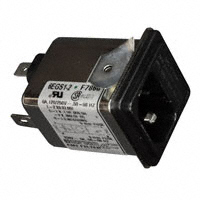 TE Connectivity Corcom Filters - 6609117-6 - PWR ENT MOD RCPT IEC320-C14 PNL
