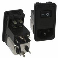 TE Connectivity Corcom Filters - 6EHL1SC - PWR ENT MOD RCPT IEC320-C14 PNL