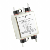 TE Connectivity Corcom Filters - 1-1609034-1 - LINE FILTER 250VDC/VAC 6A CHASS
