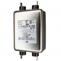 TE Connectivity Corcom Filters - 6ESK1 - LINE FILTER 250VAC 6A CHASS MNT