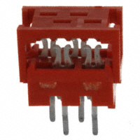 TE Connectivity AMP Connectors - 7-215570-4 - CONN PADDLEBRD 4POS VERT 28AWG