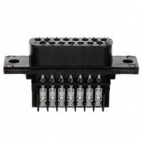 TE Connectivity AMP Connectors - 745205-7 - CONN D-SUB RCPT 15POS STR IDC