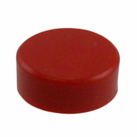 TE Connectivity ALCOSWITCH Switches - C92 - CAP PUSHBUTTON ROUND RED