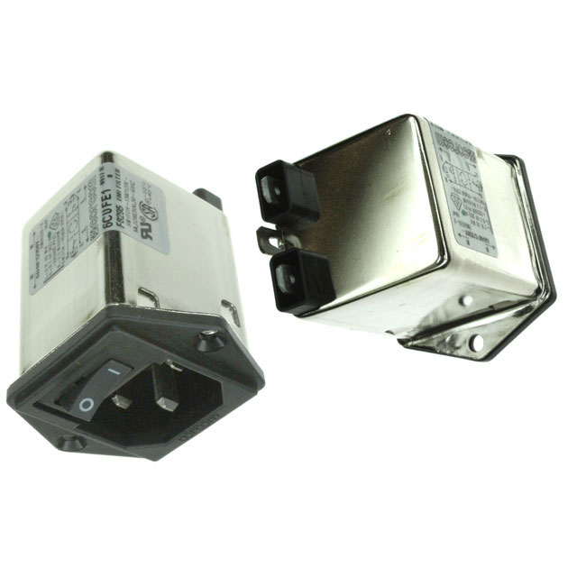 TE Connectivity Corcom Filters - 2-1609113-6 - PWR ENT MOD RCPT IEC320-C14 PNL