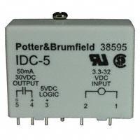 TE Connectivity Potter & Brumfield Relays - IDC-5F - INPUT MODULE DC 68MA 5VDC
