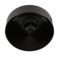 """TE Connectivity ALCOSWITCH Switches - KN1751BS1/4 - SWITCH KNOB STRAIGHT 1.75"""" BLACK"""