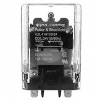 TE Connectivity Potter & Brumfield Relays - KUL-11A15S-24 - RELAY GEN PURPOSE DPDT 10A 24V