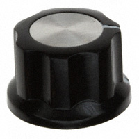 """TE Connectivity ALCOSWITCH Switches - PKES70B1/4 - SWITCH KNOB FLUTED .855"""" W/SKIRT"""
