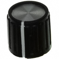 """TE Connectivity ALCOSWITCH Switches - PKG50B1/4 - SWITCH KNOB RIBBED .551"""" PKG"""