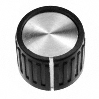 """TE Connectivity ALCOSWITCH Switches - PKG70B1/4 - SWITCH KNOB RIBBED .74"""" PKG"""