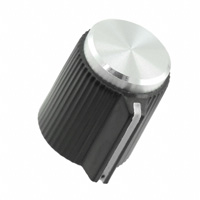 """TE Connectivity ALCOSWITCH Switches - PKJT50B1/8 - SWITCH KNOB STRGHT 0.516"""" W/SPIN"""