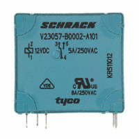 TE Connectivity Potter & Brumfield Relays - V23057B 2A101 - RELAY GEN PURPOSE SPDT 5A 12V