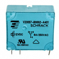 TE Connectivity Potter & Brumfield Relays - V23057B 2A401 - RELAY GEN PURPOSE SPDT 8A 12V