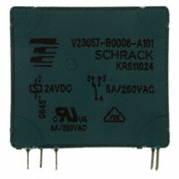 TE Connectivity Potter & Brumfield Relays - V23057-B0006-A101 - RELAY GEN PURPOSE SPDT 5A 24V