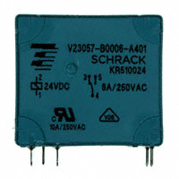 TE Connectivity Potter & Brumfield Relays - V23057B 6A401 - RELAY GEN PURPOSE SPDT 8A 24V