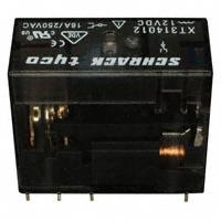 TE Connectivity Potter & Brumfield Relays - XT314012 - RELAY GEN PURPOSE SPDT 16A 12V