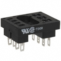 TE Connectivity Potter & Brumfield Relays - 27E125 - R10 RELAY SOCKETS-TERMINALS