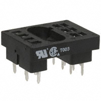 TE Connectivity Potter & Brumfield Relays - 27E128 - R10 RELAY SOCKETS-TERMINALS