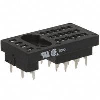 TE Connectivity Potter & Brumfield Relays - 27E130 - SOCKET 6P PC MNT 5TGR R10 SERIES