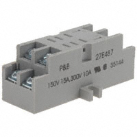 TE Connectivity Potter & Brumfield Relays - 27E487 - SOCKET TERM FOR K10 RELAYS