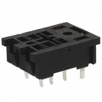 TE Connectivity Potter & Brumfield Relays - 27E489 - SOCKET RELAY PC MNT FOR K10 SER