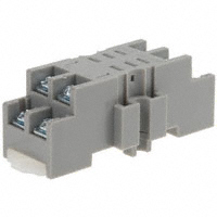 TE Connectivity Potter & Brumfield Relays - 27E895 - SOCKET DINRAIL W/SCREW TERM K10