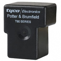 TE Connectivity Potter & Brumfield Relays - 4-1393209-2 - BLK DUST COVER FOR T90N SERIES