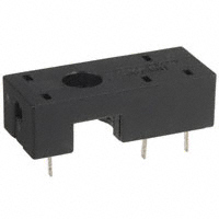 TE Connectivity Potter & Brumfield Relays - RP78601 - SOCKET TERM PCB 10A SP RT SERIES