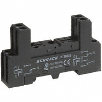 TE Connectivity Potter & Brumfield Relays - RT78625 - SOCKET RELAY DIN 10A FOR RT SER