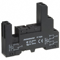 TE Connectivity Potter & Brumfield Relays - RT78626 - SOCKET RELAY DIN 12A ISO RT SER