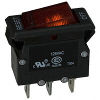 TE Connectivity Potter & Brumfield Relays - W51-A121B1-20 - CIR BRKR THRM 20A 125VAC 50VDC