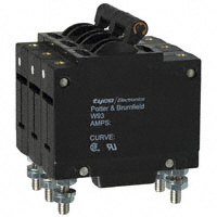 TE Connectivity Potter & Brumfield Relays - W93-X112-30 - CIR BRKR MAG-HYDR 30A 277VAC