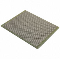 "Vector Electronics - 8022 - PC BOARD .1""SP 3X3.5 SINGLE SIDE"
