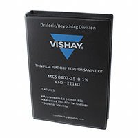 Vishay Dale - LCS964MCS04020DB00 - RES KIT 47-221K 1/16W 3600PCS