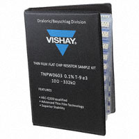 Vishay Dale - LTW964TPW06030DB00 - RES KIT 10-332K 1/10W 2200PCS