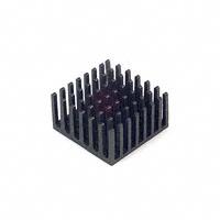 Wakefield-Vette - 658-60ABT3 - HEATSINK CPU 28MM SQ BLK W/TAPE