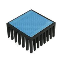 Wakefield-Vette - 658-60ABT1E - HEATSINK CPU 28MM SQ BLK W/TAPE